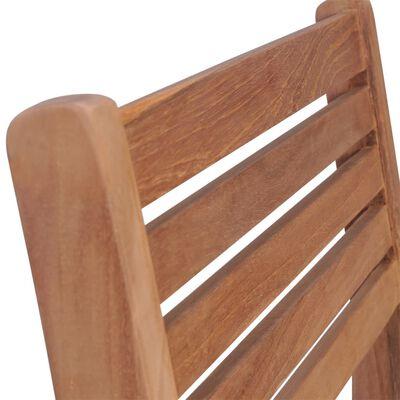 vidaXL Scaune de grădină cu perne antracit, 2 buc., lemn masiv de tec