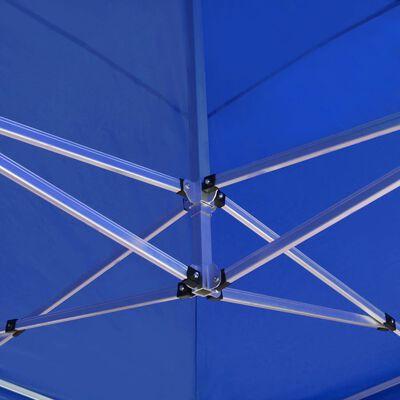 vidaXL Cort de petrecere pliabil profesional albastru 6x3 m aluminiu, Albastru