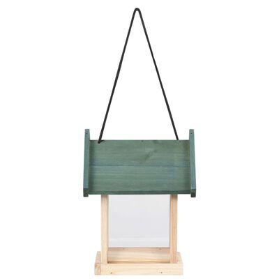 vidaXL Căsuțe de păsărele, 4 buc., lemn de brad