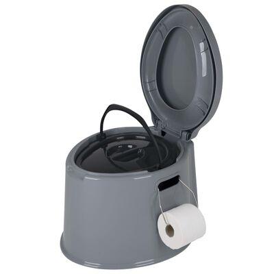 Bo-Camp Toaletă portabilă, gri, 7L