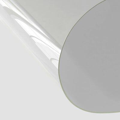 vidaXL Folie de protecție masă, transparent, 100 x 60 cm, PVC, 2 mm