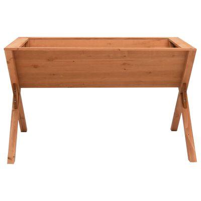 vidaXL Jardinieră, 90 x 55 x 56 cm, lemn de brad