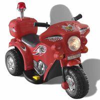 Motocicletă de jucărie electrică Roșu