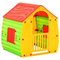 vidaXL Casă de joacă pentru copii, 102x90x109 cm