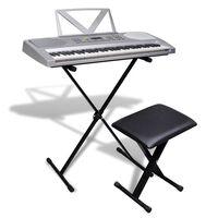 Orgă electronică + Cadru ajustabil și scaun