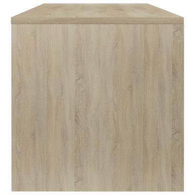 vidaXL Măsuță de cafea, stejar Sonoma, 100x40x40 cm, PAL