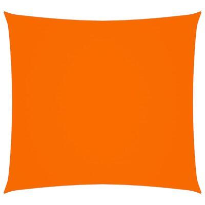 vidaXL Parasolar, portocaliu, 3x3 m, țesătură oxford, pătrat