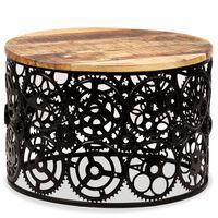 vidaXL Măsuță de cafea din lemn masiv de mango 60 x 40 cm