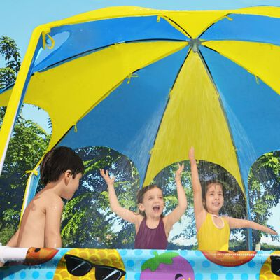 Bestway Piscină supraterană copii Steel Pro, protecție UV, 244x51 cm