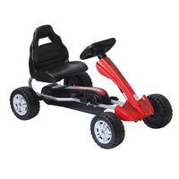Go Kart Cu Pedale Pentru Copii 3-8 Ani, Rosu