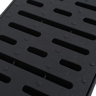 vidaXL Canale de drenaj, 6 buc., plastic, 6 m