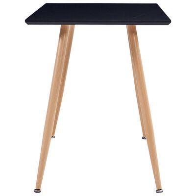 vidaXL Set mobilier de bucătărie, 5 piese, roșu vin, material textil