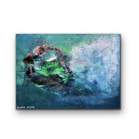 Tablou Pictat Manual Ocean 50x70 Cm