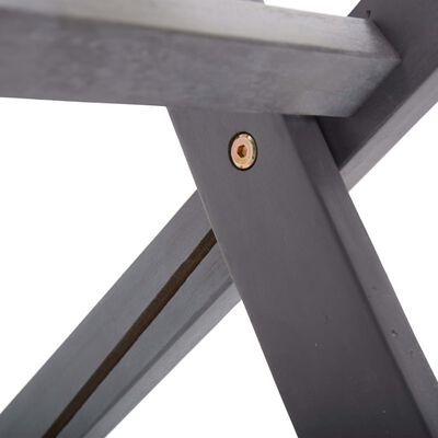 vidaXL Scaune pliabile de exterior, 4 buc., lemn masiv de acacia