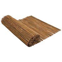 vidaXL Gard de bambus, 500x100 cm