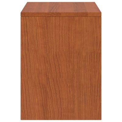 vidaXL Noptieră, maro miere, 35 x 30 x 40 cm, lemn masiv de pin