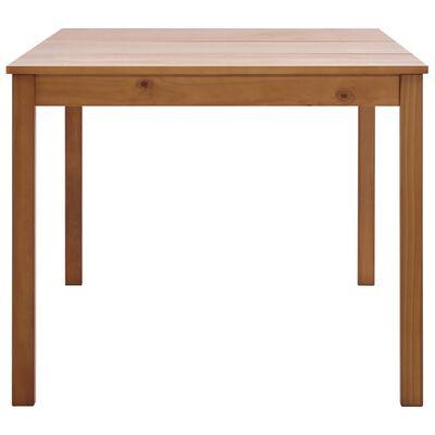 vidaXL Set mobilier de bucătărie, 11 piese, maro miere, lemn de pin