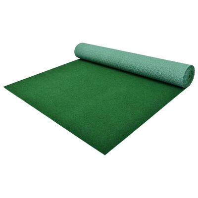 vidaXL Gazon artificial cu crampoane, verde, 3 x 1 m, PP
