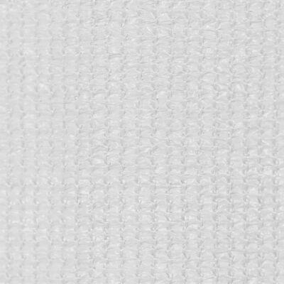 vidaXL Jaluzea tip rulou de exterior, alb, 80x140 cm, HDPE