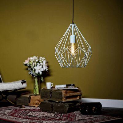 EGLO Lampă suspendată Carlton, verde mentă, 49259
