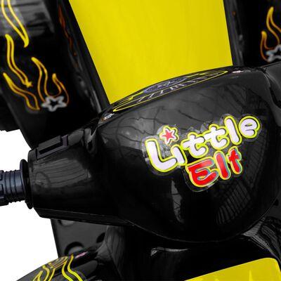 ATV electric copii galben și negru