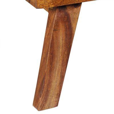 vidaXL Dulap lateral, lemn masiv de sheesham, 60 x 35 x 76 cm