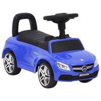 vidaXL Mașinuță pentru primii pași Mercedes-Benz C63, albastru