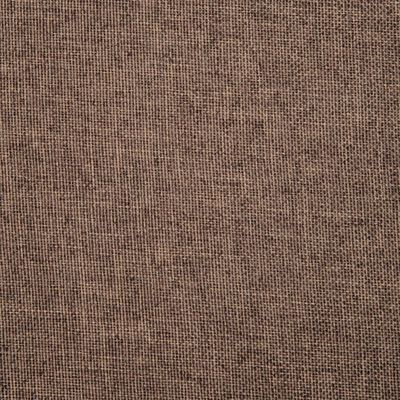 vidaXL Scaune de sufragerie pivotante, 6 buc., maro, material textil