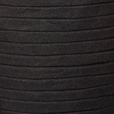 Capi Jardinieră în formă de ou Nature Row, negru, 43x41 cm, KBLRO933