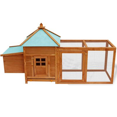 vidaXL Coteț de păsări pentru exterior