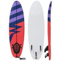 vidaXL Placă de surf, 170 cm, model dungi