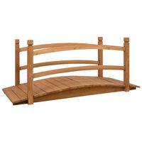 vidaXL Podeț de grădină, 140 x 60 x 60 cm, lemn masiv de brad