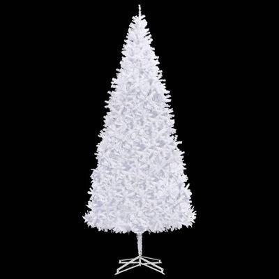 vidaXL Brad de Crăciun artificial, alb, 500 cm