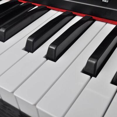 vidaXL Pian electronic/pian digital cu 88 clape și stativ partituri  ,