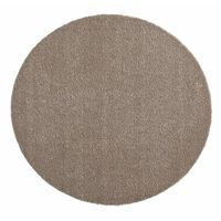 Covoras Intrare Hanse Home Soft & Clean, Rotund, Taupe, 75x75