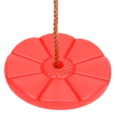 vidaXL Leagăn placă, 200 cm, roșu