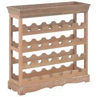 vidaXL Dulap de vinuri, 70x22,5x70,5 cm, MDF, maro