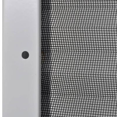 vidaXL Ecran insecte pentru ferestre, aluminiu, 120x120 cm