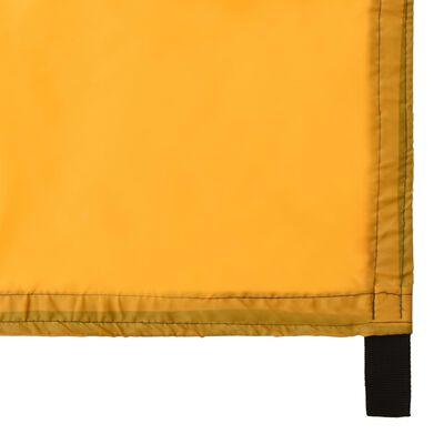 vidaXL Prelată de exterior, galben, 4x4 m