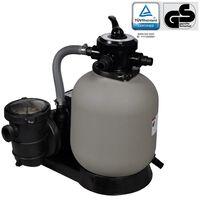 vidaXL Pompă filtru cu nisip 600 W 17000 l/h