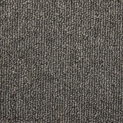 vidaXL Covorașe de trepte de scară, 15 buc., gri închis, 65 x 25 cm