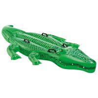 Intex Jucărie de piscină crocodil gigant ride-on, 203x114 cm