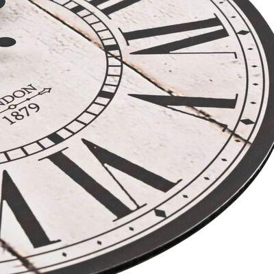 vidaXL Ceas de perete vintage London, 30 cm