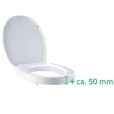 RIDDER Capac de toaletă cu închidere silențioasă Premium alb A0070700