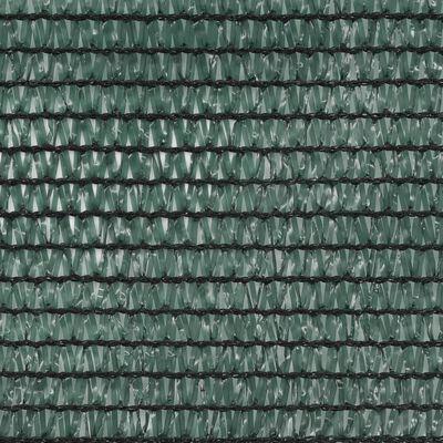 vidaXL Plasă teren de tenis, verde, 1,6 x 25 m, HDPE