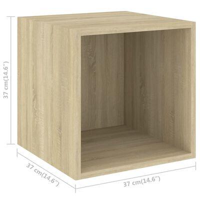 vidaXL Set de dulapuri TV, 5 piese, stejar sonoma, PAL