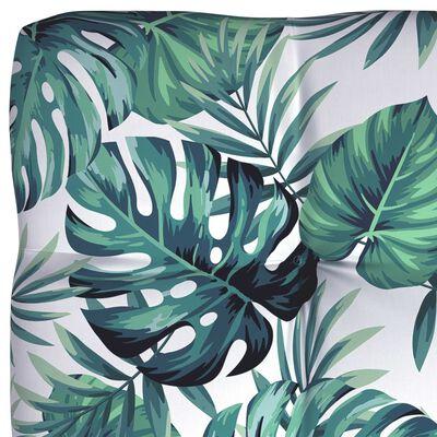 vidaXL Perne de canapea din paleți, 5 buc., model frunze