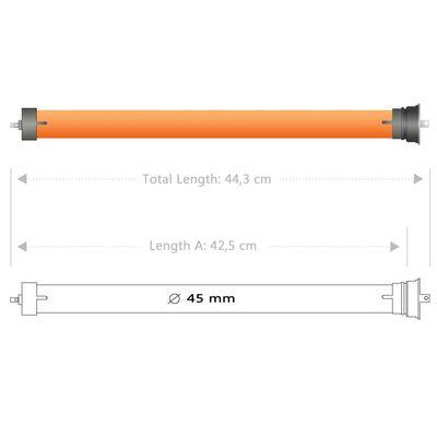 vidaXL Motoare tubulare, 7 buc., 10 Nm