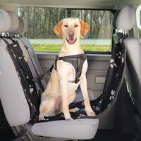 TRIXIE Husă scaun auto pentru câini, negru și bej, 65x145 cm, 13231