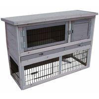 FLAMINGO Cușcă de iepuri Loft Cottage, 111x45x78 cm 201906